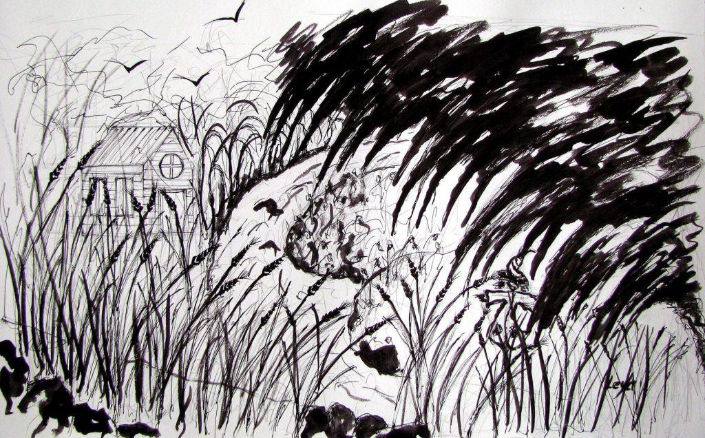 Çizim: Leyla Özlüoğlu